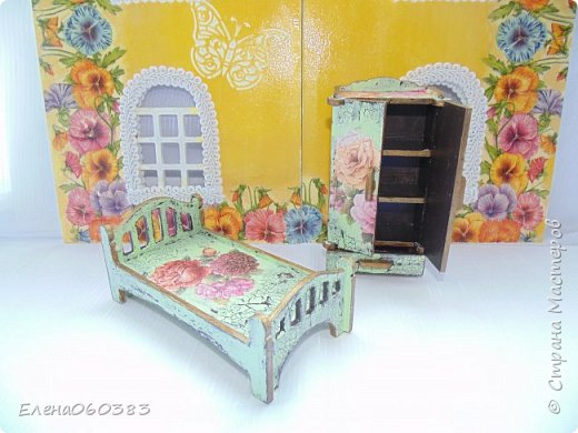 Кукольная мебель для игрушек высотой 8-10 см фото 34