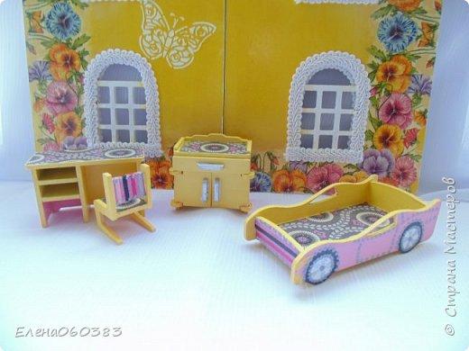 Кукольная мебель для игрушек высотой 8-10 см фото 12