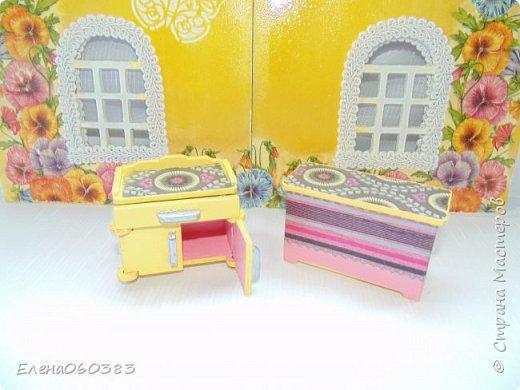 Кукольная мебель для игрушек высотой 8-10 см фото 13