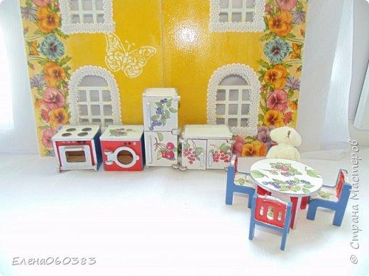 Кукольная мебель для игрушек высотой 8-10 см фото 20