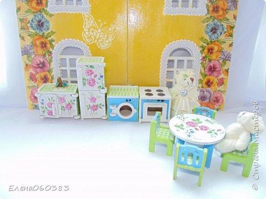 Кукольная мебель для игрушек высотой 8-10 см фото 24
