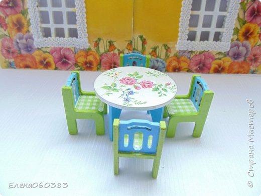 Кукольная мебель для игрушек высотой 8-10 см фото 25
