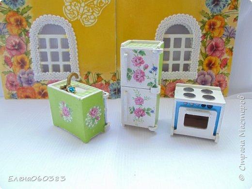 Кукольная мебель для игрушек высотой 8-10 см фото 27