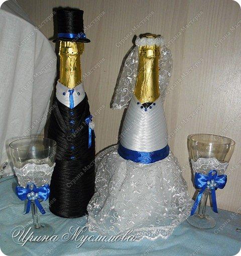 Здравствуйте уважаемые жители СМ! Вот и меня не обошел свадебный декор. Этот наборчик я делала для дорогой и любимой для нашей семьи прекрасной девушки. Большое спасибо прекрасным мастерицам СМ за вдохновение!!! фото 2