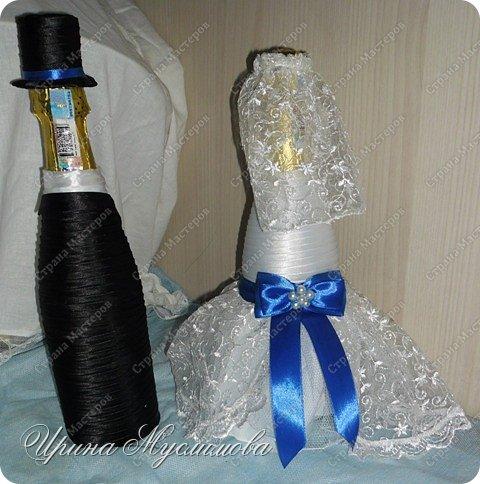 Здравствуйте уважаемые жители СМ! Вот и меня не обошел свадебный декор. Этот наборчик я делала для дорогой и любимой для нашей семьи прекрасной девушки. Большое спасибо прекрасным мастерицам СМ за вдохновение!!! фото 3