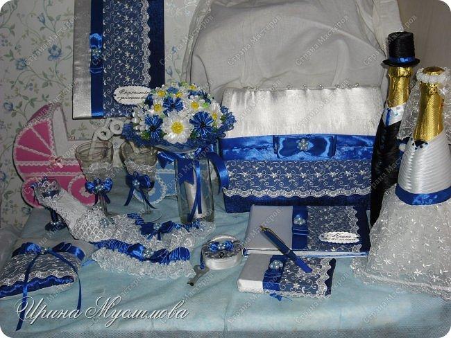 Здравствуйте уважаемые жители СМ! Вот и меня не обошел свадебный декор. Этот наборчик я делала для дорогой и любимой для нашей семьи прекрасной девушки. Большое спасибо прекрасным мастерицам СМ за вдохновение!!! фото 1