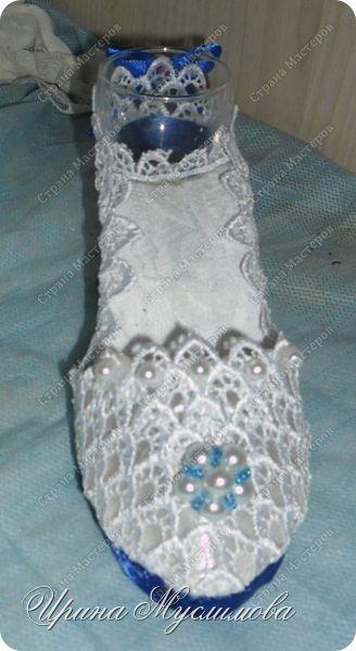 Здравствуйте уважаемые жители СМ! Вот и меня не обошел свадебный декор. Этот наборчик я делала для дорогой и любимой для нашей семьи прекрасной девушки. Большое спасибо прекрасным мастерицам СМ за вдохновение!!! фото 7