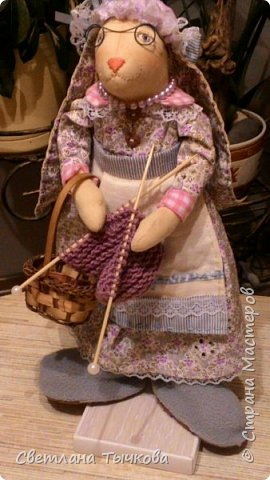 Бабушка-зайчиха Дуся. фото 9