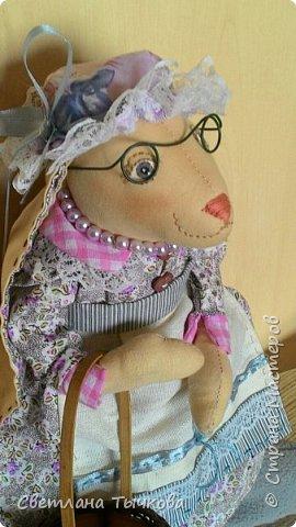 Бабушка-зайчиха Дуся. фото 1