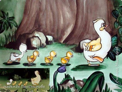 Шестой рисунок на тему сказок. фото 4