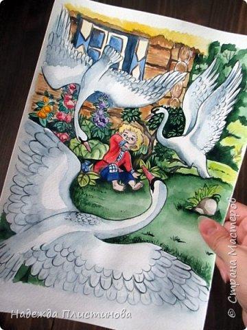 Седьмой рисунок на тему сказок.  фото 3