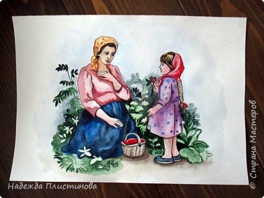 Восьмой рисунок на тему сказок.  фото 2