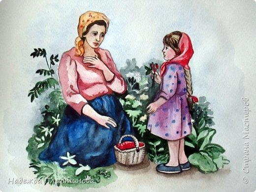 Восьмой рисунок на тему сказок.  фото 1