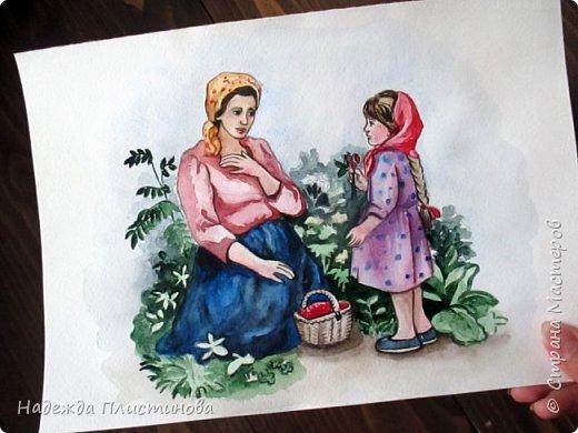 Восьмой рисунок на тему сказок.  фото 3