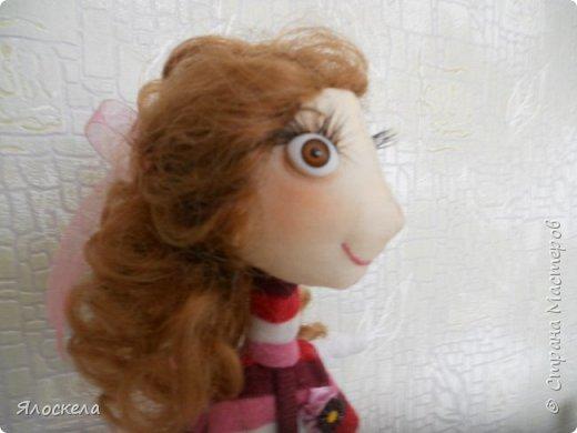 Всем доброго дня! Продолжаю шить кукол по выкройкам Е.Войнатовской. Куколка сшита в подарок институтской подруге фото 8