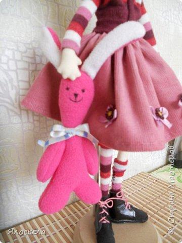Всем доброго дня! Продолжаю шить кукол по выкройкам Е.Войнатовской. Куколка сшита в подарок институтской подруге фото 9