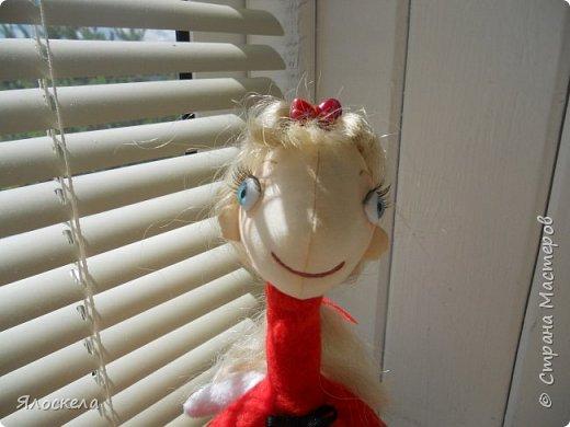 Всем доброго дня! Продолжаю шить кукол по выкройкам Е.Войнатовской. Куколка сшита в подарок институтской подруге фото 5