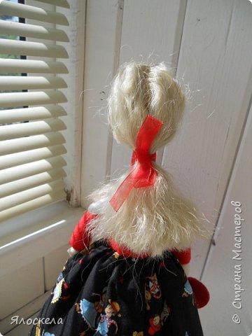 Всем доброго дня! Продолжаю шить кукол по выкройкам Е.Войнатовской. Куколка сшита в подарок институтской подруге фото 6