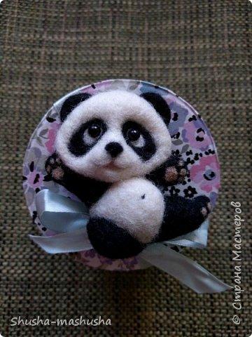 Вот такая панда- малышка для моей дочурки)