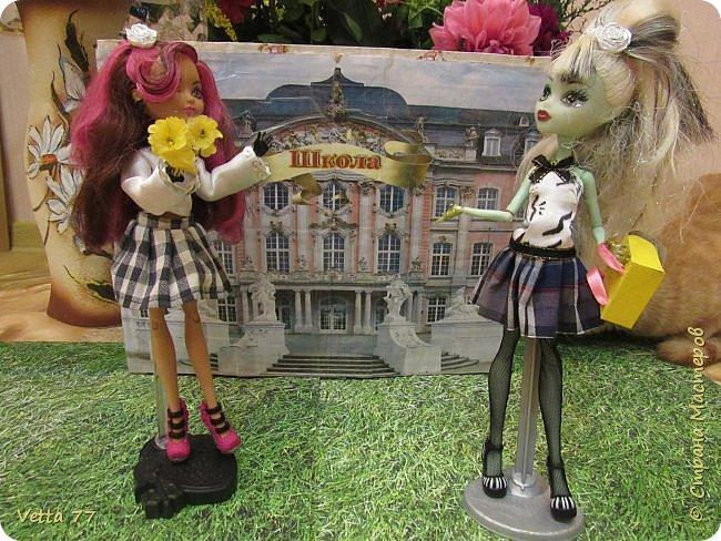 1 сентября в нашем кукольном городке состоялось торжественное открытие новой школы. фото 1