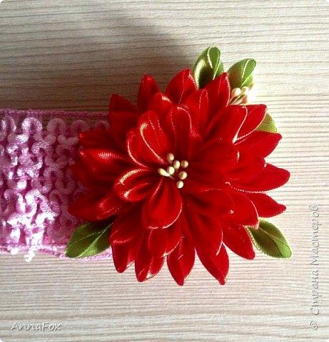 Всем привет!) Подруга попросила сделать ободок в розовых тонах, вот что получилось фото 5