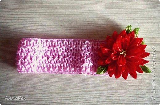 Всем привет!) Подруга попросила сделать ободок в розовых тонах, вот что получилось фото 4