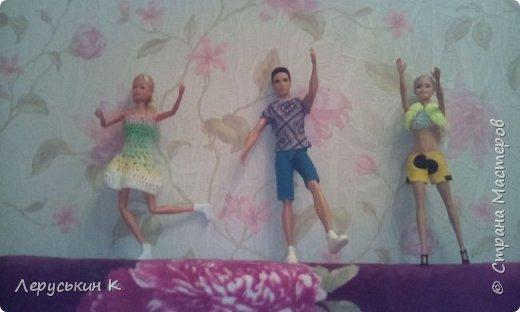 Всем привет. Сегодня мои куклы покажут что они делают когда меня нет дома.  фото 7