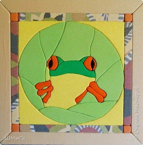 Сделала лягушку. Для себя;) фото 1