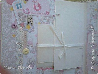 Альбом для девочки от рождения до года. фото 14