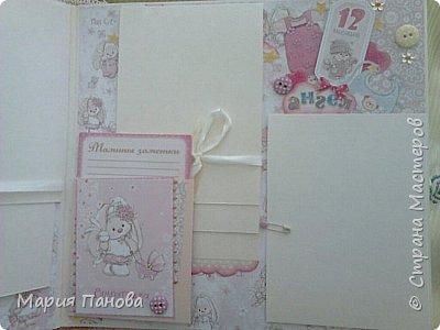Альбом для девочки от рождения до года. фото 15
