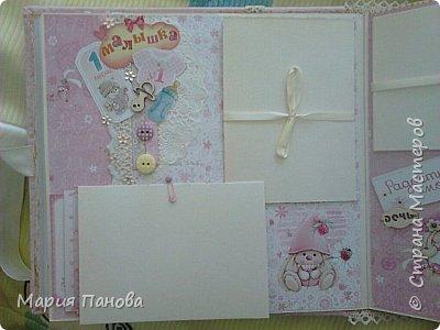 Альбом для девочки от рождения до года. фото 4