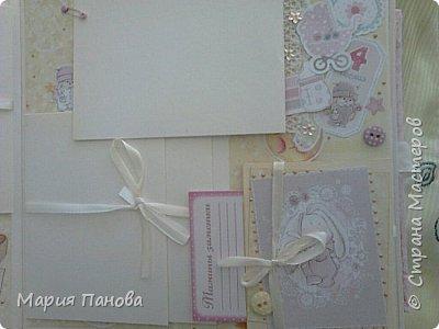 Альбом для девочки от рождения до года. фото 7