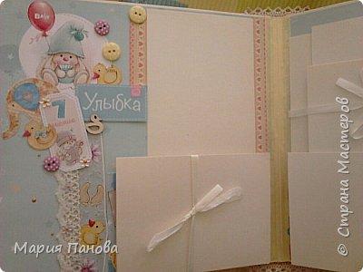 Альбом для девочки от рождения до года. фото 10