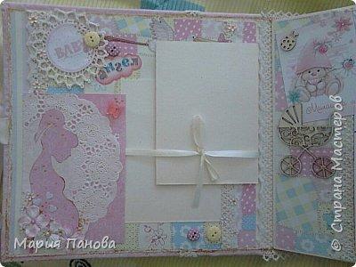 Альбом для девочки от рождения до года. фото 2