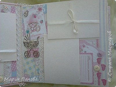 Альбом для девочки от рождения до года. фото 3