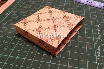 Добрый день! В этом МК я расскажу, как делала небольшие коробочки для флешек (в подарок музыкантам). Одна коробочка для гитариста, вторая для певицы. фото 5