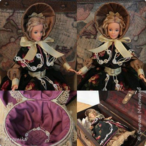 """Кукла-шкатулка """"Путешественница"""" фото 1"""