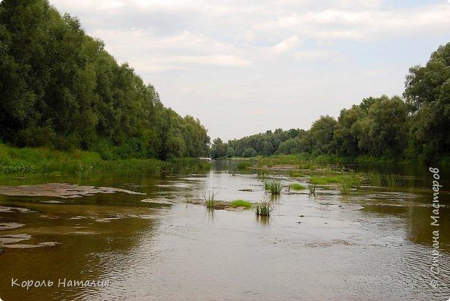 Всем доброго вечера! Спешу поделиться с вами воспоминаниями о лете... Любич - рукав Десны. Длина около 15 км, русло реки неглубокое, но течение достаточно быстрое.   фото 6