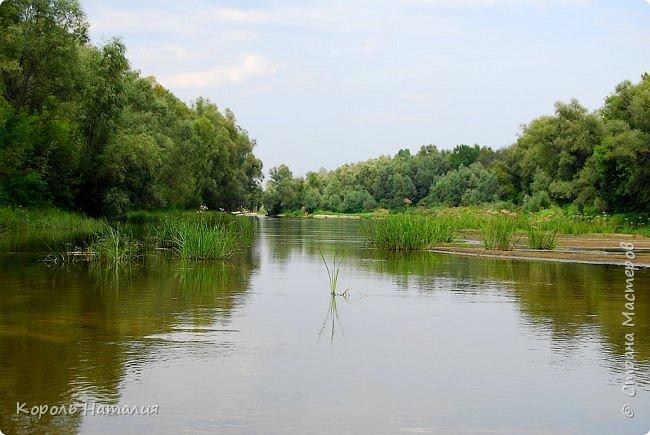 Всем доброго вечера! Спешу поделиться с вами воспоминаниями о лете... Любич - рукав Десны. Длина около 15 км, русло реки неглубокое, но течение достаточно быстрое.   фото 10