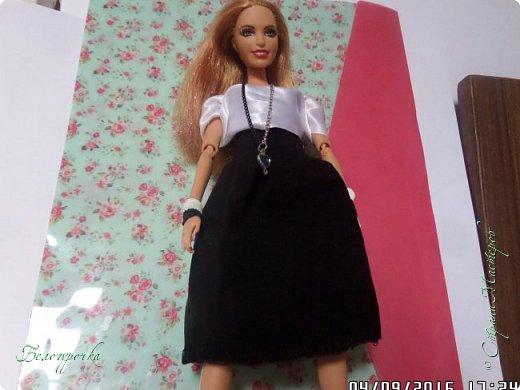 """привет!сегодня я сдаю работу на конкурс """"Мисс Кукольная Жизнь"""" http://stranamasterov.ru/node/1046432 И  меня черно-белый костюм: фото 2"""