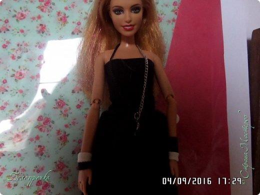 """привет!сегодня я сдаю работу на конкурс """"Мисс Кукольная Жизнь"""" http://stranamasterov.ru/node/1046432 И  меня черно-белый костюм: фото 7"""