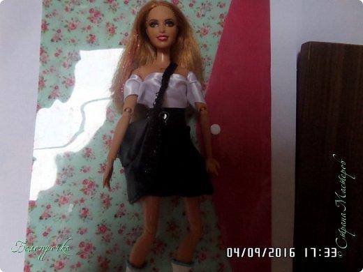 """привет!сегодня я сдаю работу на конкурс """"Мисс Кукольная Жизнь"""" http://stranamasterov.ru/node/1046432 И  меня черно-белый костюм: фото 8"""