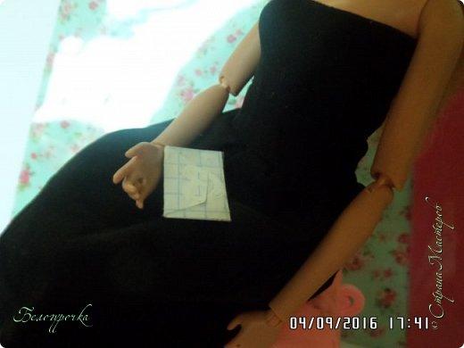 """привет!сегодня я сдаю работу на конкурс """"Мисс Кукольная Жизнь"""" http://stranamasterov.ru/node/1046432 И  меня черно-белый костюм: фото 15"""
