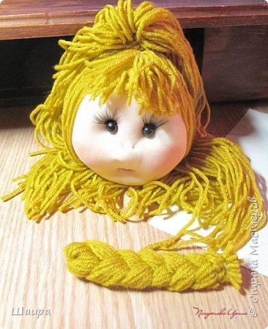 Кукла 45 см с кокошником. Самостоятельно стоит. Ручки, ножки двигаются. фото 5