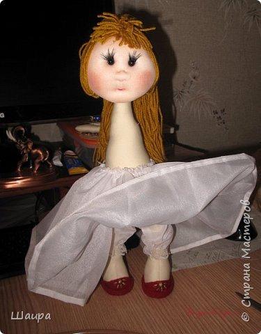 Кукла 45 см с кокошником. Самостоятельно стоит. Ручки, ножки двигаются. фото 12