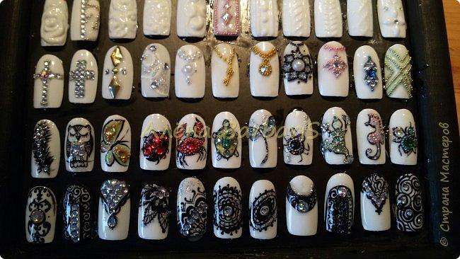 А вот это моя работа ... ))) Создаю и повторяю всевозможные дизайны ногтей ) фото 3