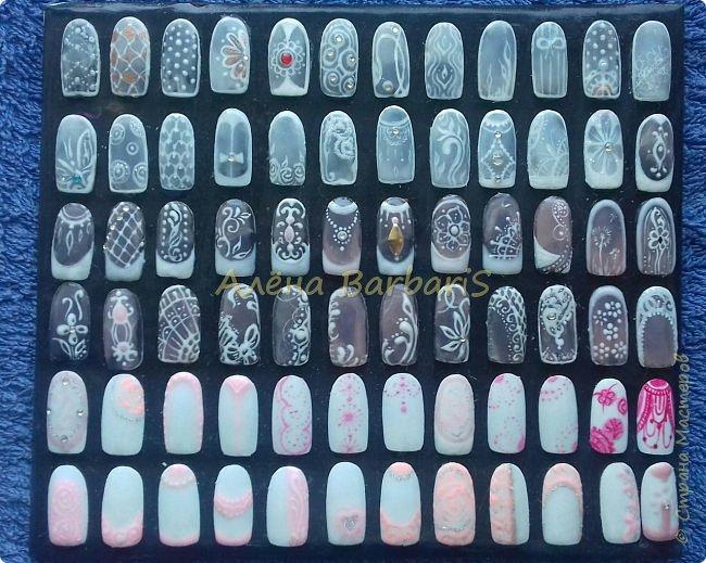 А вот это моя работа ... ))) Создаю и повторяю всевозможные дизайны ногтей ) фото 5