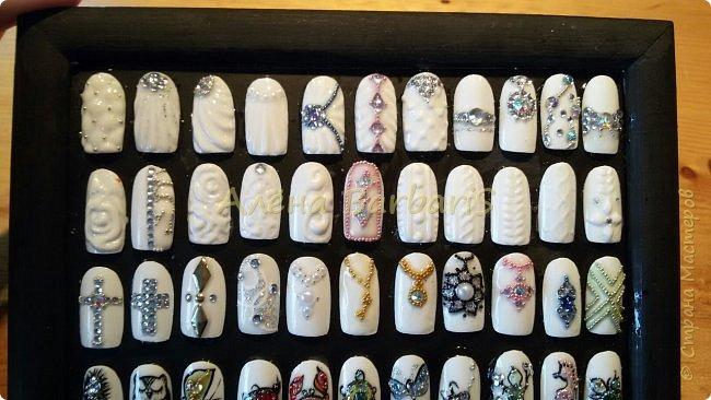А вот это моя работа ... ))) Создаю и повторяю всевозможные дизайны ногтей ) фото 2