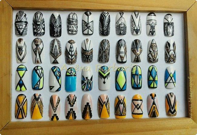 А вот это моя работа ... ))) Создаю и повторяю всевозможные дизайны ногтей ) фото 6