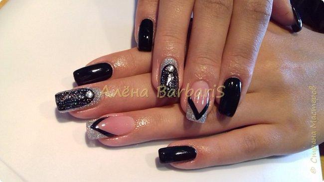 А вот это моя работа ... ))) Создаю и повторяю всевозможные дизайны ногтей ) фото 12